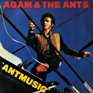 "Adam And The Ants - Antmusic (7"") (VG-/G++)"
